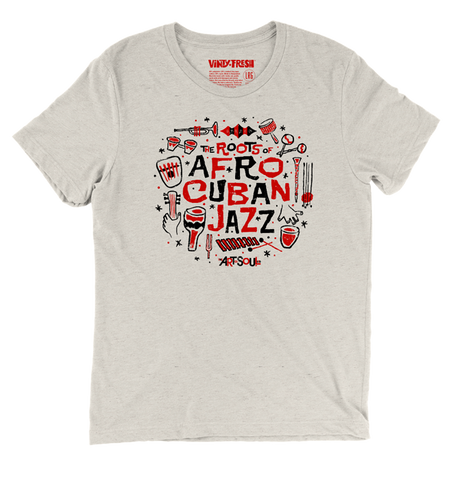 The Roots Of Afro Cuban Jazz - Men's Oatmeal Tri-Blend Short Sleeve T-shirt