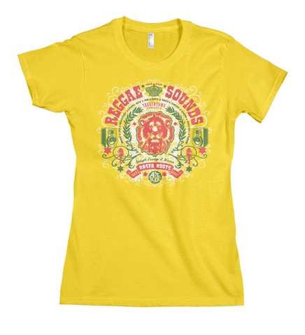 Reggae Sounds - Women's Sunshine Short Sleeve T-shirt