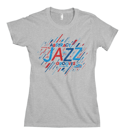 Abstract Jazz Grooves Vol. 1 - Women's Heather Grey Short Sleeve T-shirt
