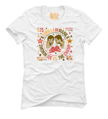 The Fight Of A Lifetime - Women's White Short Sleeve T-shirt