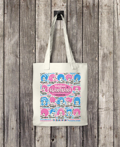 Glamorama - Bull Denim Woven Cotton Tote Bag