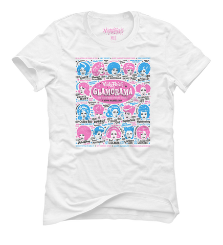Glamorama - Women's White Short Sleeve T-shirt