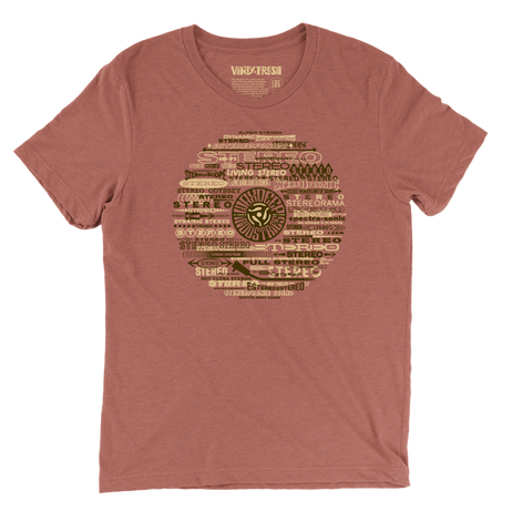 Stereorama - Men's Unisex Clay Triblend Short Sleeve T-shirt