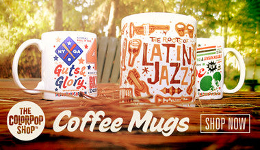 The Color Pop Shop Coffee Mugs