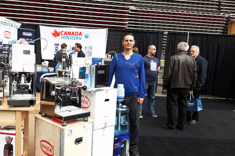 Canada Ionizers at 2017 BC Home Garden Show
