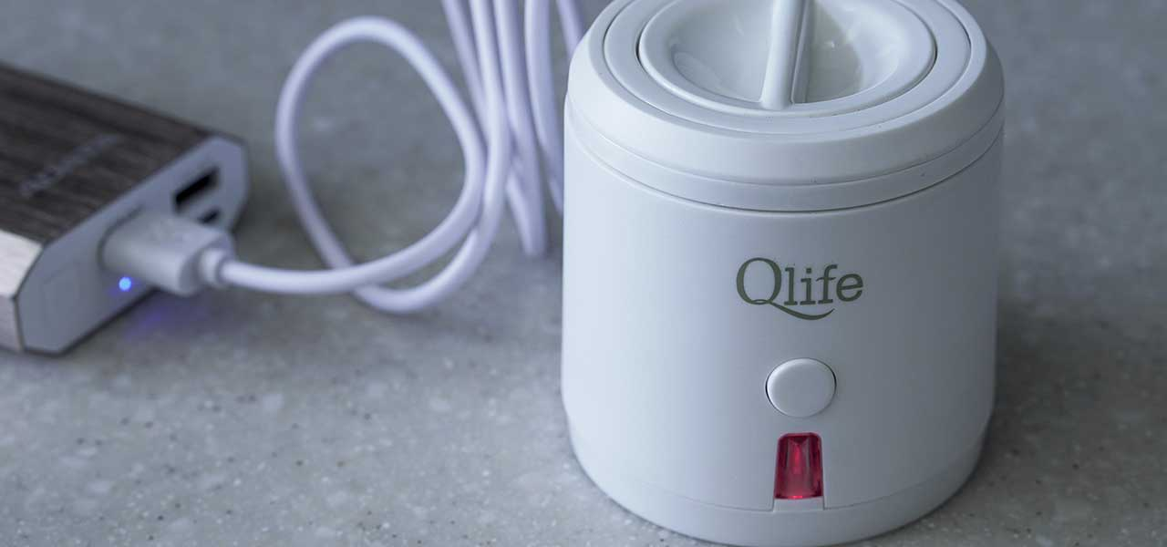 Q-cup from Q-life battery charger