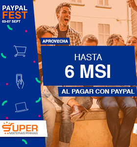 PayPal Fest: Hasta 6 meses sin intereses.