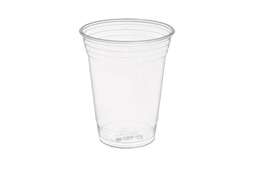 Vaso transparente PETE 16 oz.