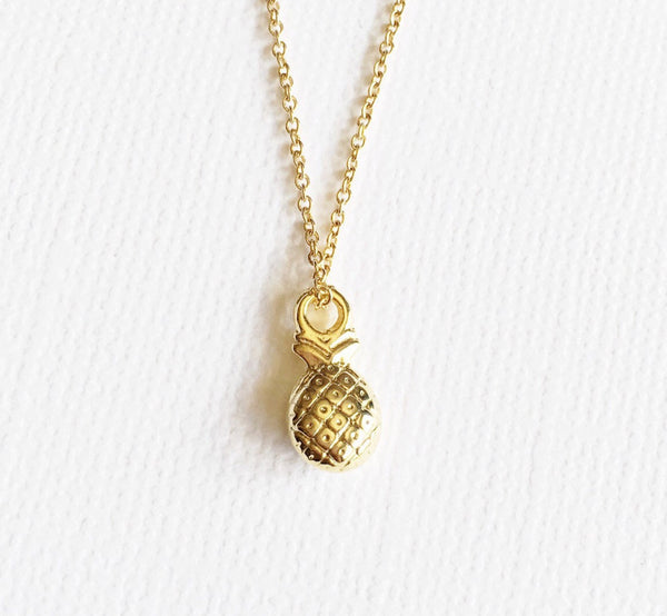 Necklace Lili - Pineapple  (N215)