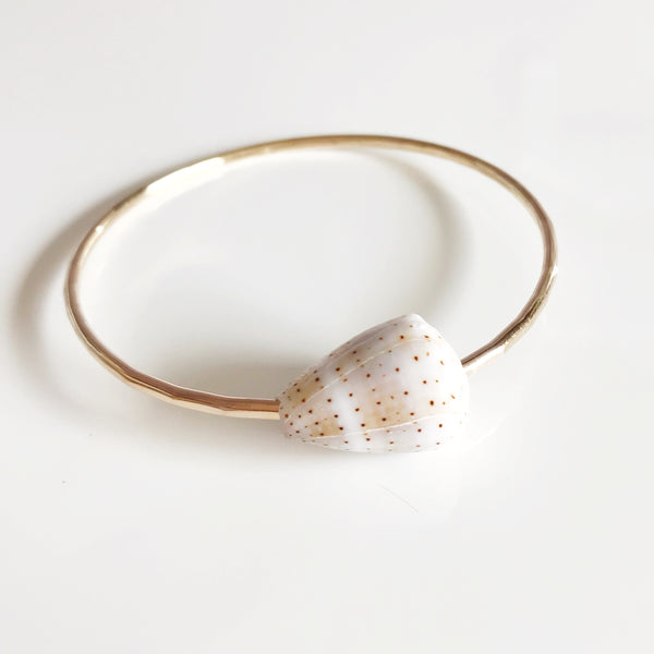 Bangle LEHUA - abbreviated cone shell (B349)
