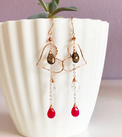 Earrings Aiko  (E142)