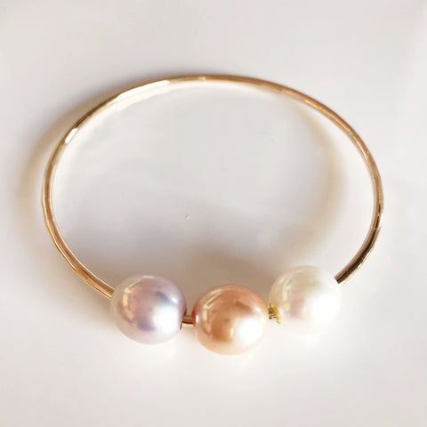 Bangle PAIGE - Edison pearls (B350)