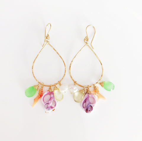 Earrings Emi - cebu shell (E297)