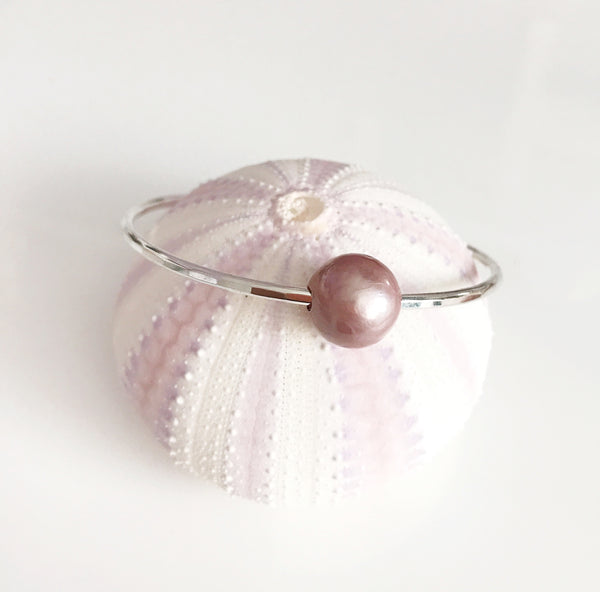 Bangle MIKA - lavender pearl (B345)