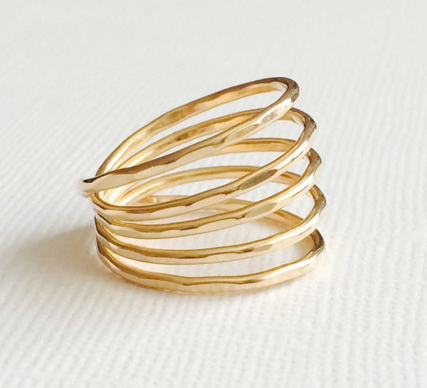 Ring THALIA - Gold filled (R124)