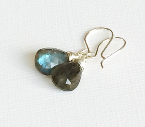 Earrings Nalani - Labradorite (E198)
