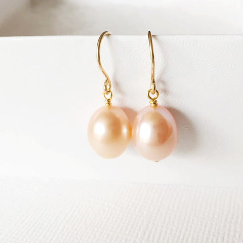 Earrings Casi - pink  (E233)