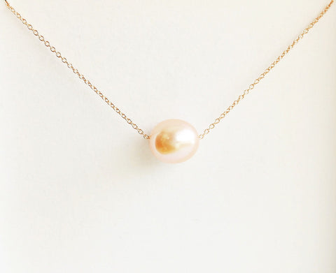 Necklace Kea - Pink pearl (N128)