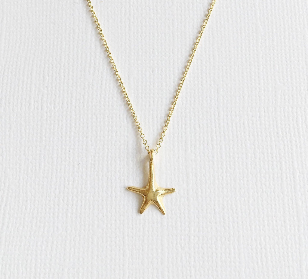 Necklace Lili - Starfish (N184)