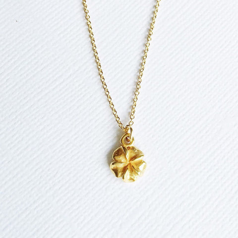 Necklace Pua - small plumeria ( N186)