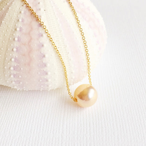 Necklace Kea - pink pearl ( N209)