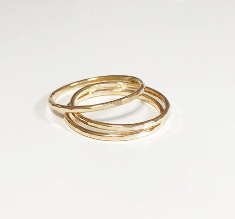 Clara rings set - 3 pieces  (R118)