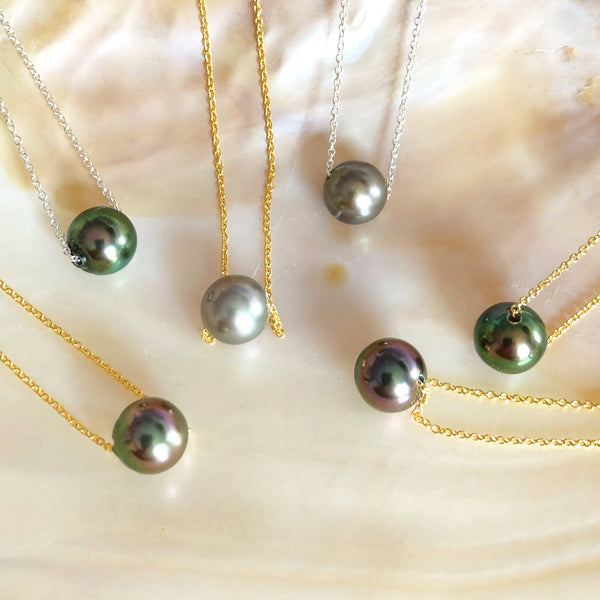 Necklace Kea - Tahitian pearl (N102)