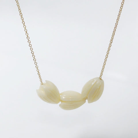 Necklace KRISTI - pikake (R328)