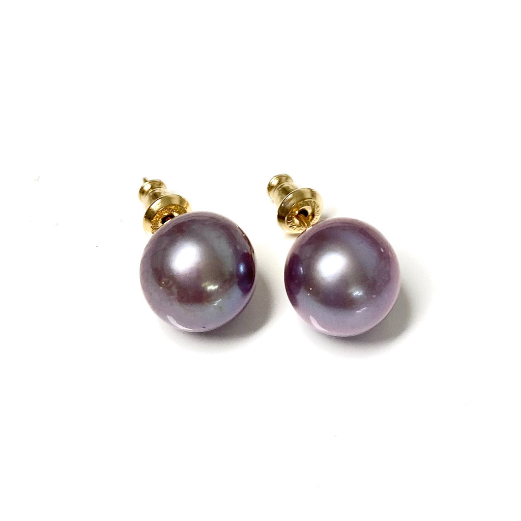 Earrings MOMI - lavender Edison pearls (E575)