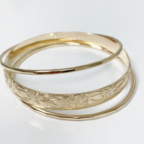 MOANI bangles set - 8mm bangle (B436)