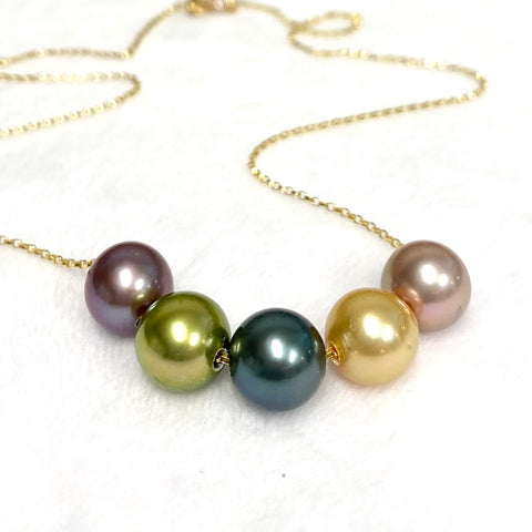 Necklace AURA - multicolor (N381)