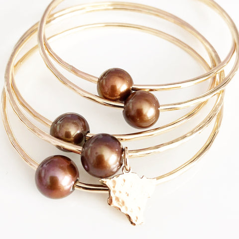 Bangle Mika - chocolate (B250)
