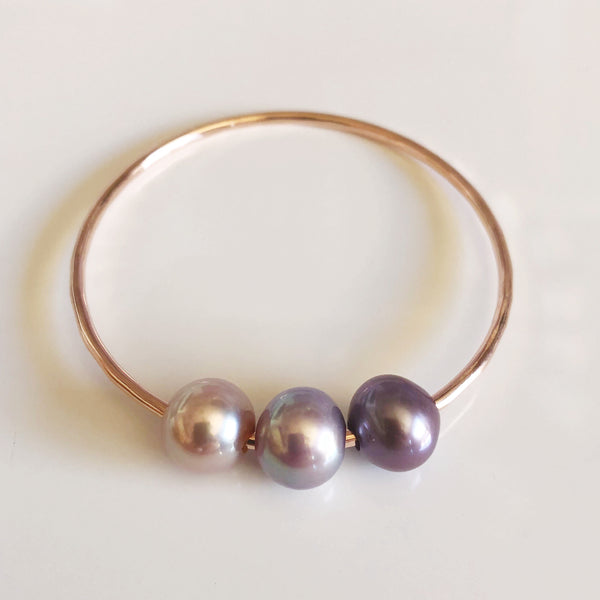 Bangle PAIGE - purple ombré (B386)