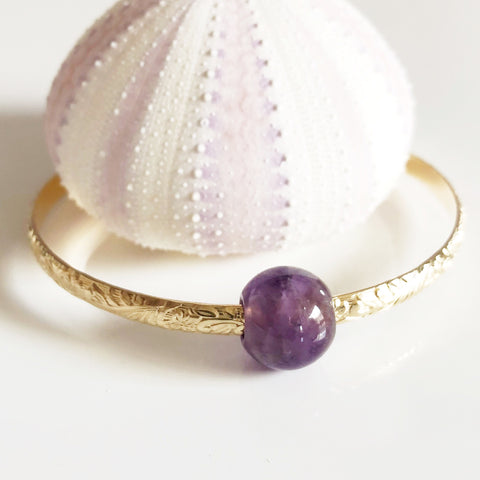 Bangle ALII - gemstones (B352)