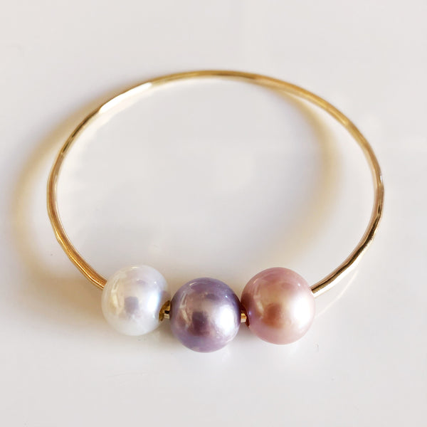 Bangle PAIGE - edison pearls (B387)