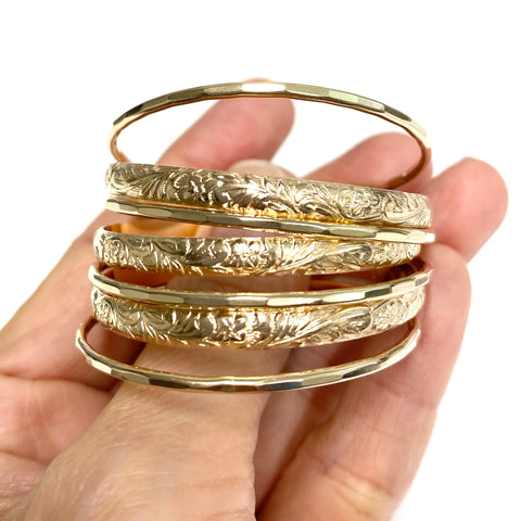 Baby ATHENA Bangles set - 4mm (B548)
