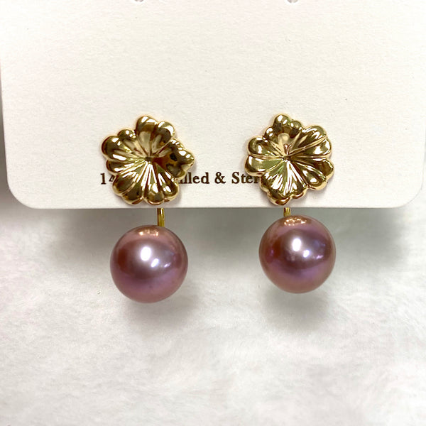 Earrings Haiku - Pua & Edison pearls