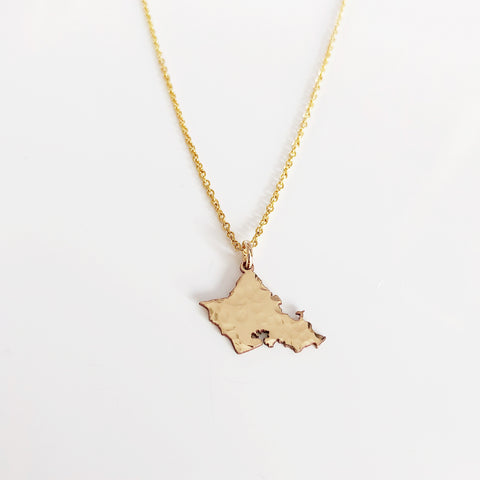Oahu charm necklace (N291)