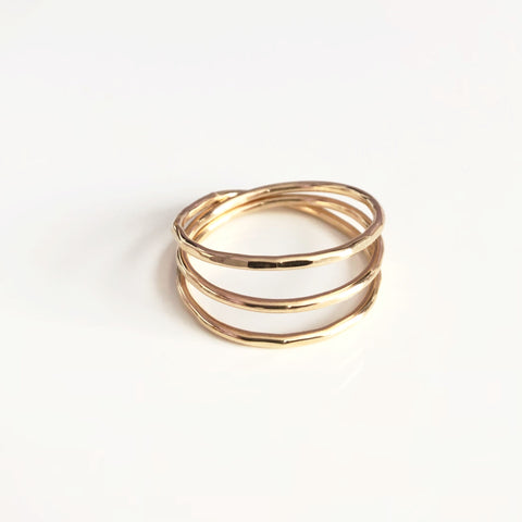 Ring Sharla - triple wraps ring (R155)