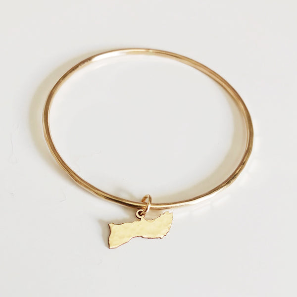 Molokai charm bangle (B424)