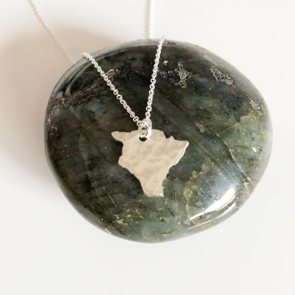 Big island charm necklace (N286)