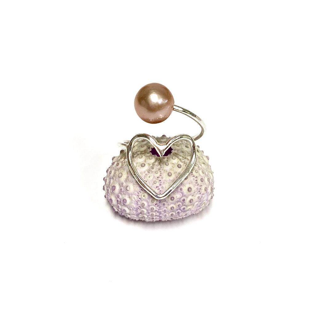 Ring Eden - pink Edison pearl (R186)