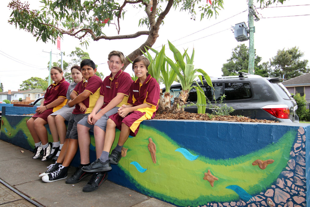 Lake Macquarie council unveils Windale art project