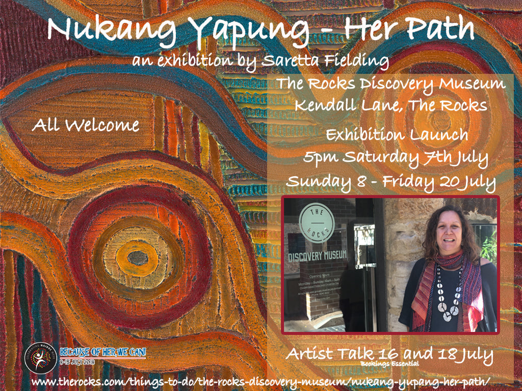 Nukang Yapung - Her Path Exhibition