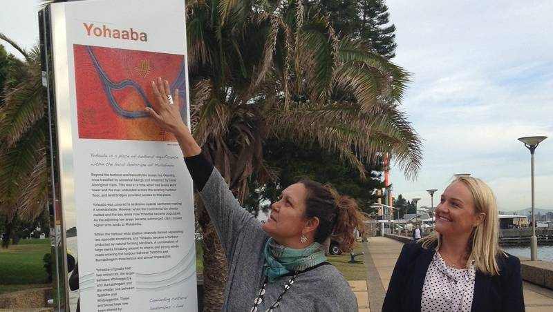 Newcastle City Council trials dual name signs using indigenous words for landmarks