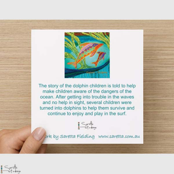 Greeting Card - Guparr Dolphin