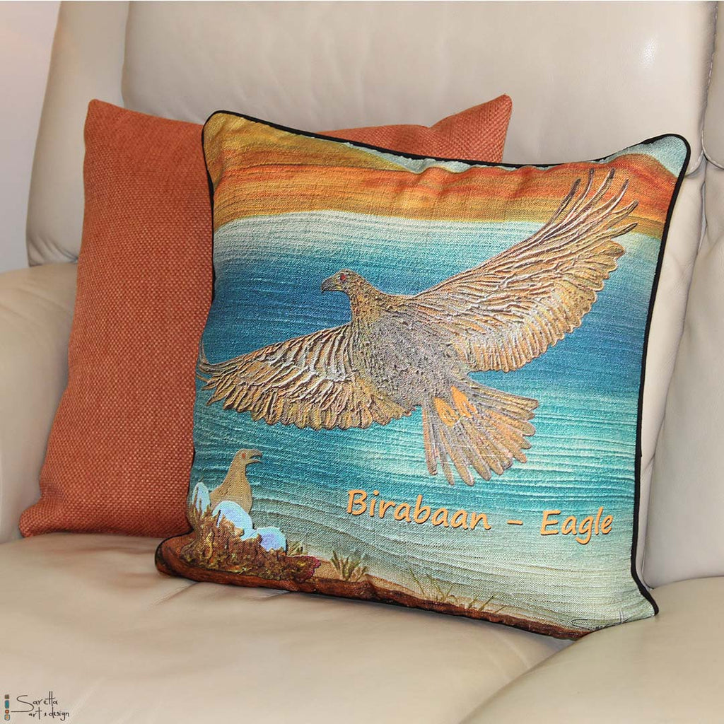 Cushion Cover - Totem Birabaan Eagle