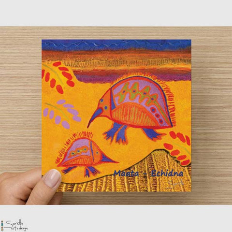 Greeting Card - Maata Echidna