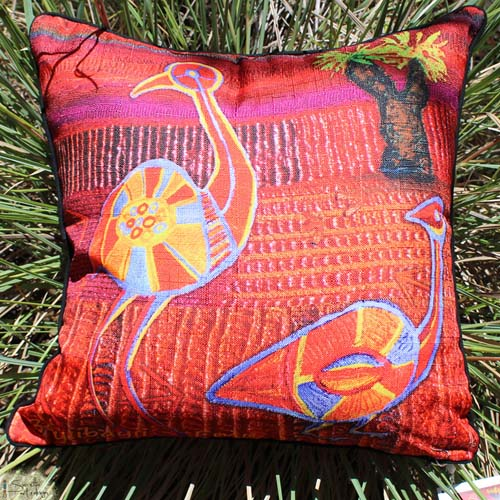 Cushion Cover - Totem Bayiibayii Emu