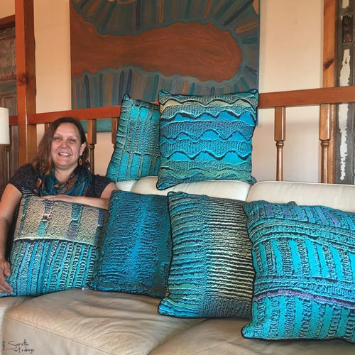 Cushion Cover - Kaling Woven